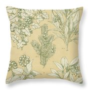 Leaves From Nature Throw Pillow