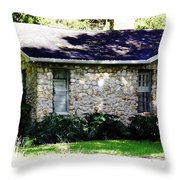 Home Made Of Limestone Throw Pillow