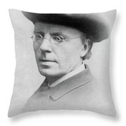 Man, 19th Century Throw Pillow