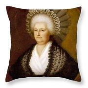 Martha Washington (1731-1802) Throw Pillow