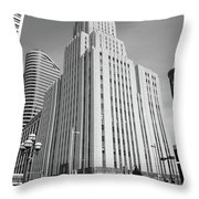 Minneapolis Skyscrapers Throw Pillow