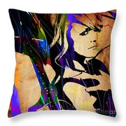 Miranda Lambert Collection Throw Pillow
