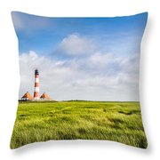 North Sea Throw Pillow