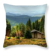 Oberharz Throw Pillow