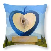 Occhio Throw Pillow