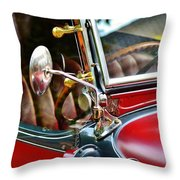 Oldtimer Throw Pillow