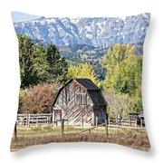 Palisades Barn Throw Pillow
