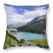 Panoramic View Throw Pillow