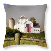 Park City Barn Throw Pillow