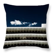 Preston Bus Station Throw Pillow