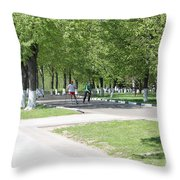 Quay Throw Pillow