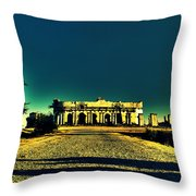Radha Bhavan Throw Pillow