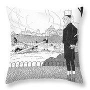 Rene Laennec (1781-1826) Throw Pillow