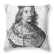 Richard II (1367-1400) Throw Pillow