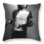 Rolling Stones Throw Pillow