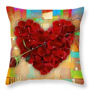Roses Collection Throw Pillow