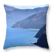 Santa Cruz Island Throw Pillow