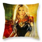 Shakira Throw Pillow
