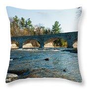 5-span Bridge Throw Pillow