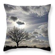 Dramatic Sky Throw Pillow