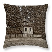5 Star Barn Monochrome Throw Pillow