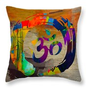 Stream Of Inspiration Throw Pillow