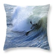 Surfer Throw Pillow