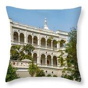 The Aga Khan Palace Throw Pillow