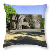 The Commons In Little Compton Rhode Island Throw Pillow