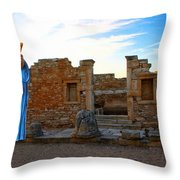The Palaestra - Apollo Sanctuary Throw Pillow