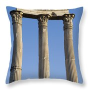 The Roman Forum Throw Pillow