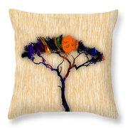 Tree Wall Art Throw Pillow