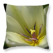 Tulip Named Perles De Printemp Throw Pillow