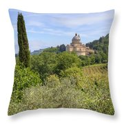 Tuscany - Montepulciano Throw Pillow