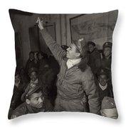 Tuskegee Airmen, 1945 Throw Pillow