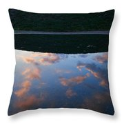 Up And Under Throw Pillow