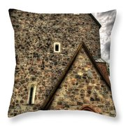 Uppsala Church - Gamia - Uppsala Sweden Throw Pillow