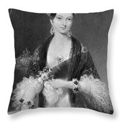 Victoria Of England (1819-1901) Throw Pillow