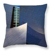 Walt Disney Concert Hall, Los Angeles Throw Pillow