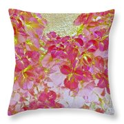Together Again Watercolor Photography Throw Pillow