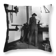 Wilbur Wright (1867-1912) Throw Pillow