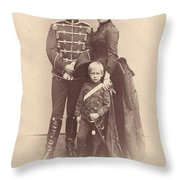William II Of Germany (1859-1941) Throw Pillow
