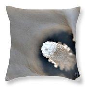 Zantedeschia Named Mozart Throw Pillow