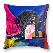 Gina Throw Pillow