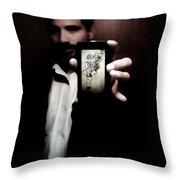 50 Shades Of Art Throw Pillow