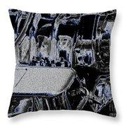 502 Throw Pillow