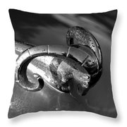 51 Ram Throw Pillow