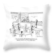 'the Awakening: An Unauthorized Look Throw Pillow