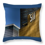 511 Throw Pillow