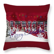 New England Patriots Throw Pillow